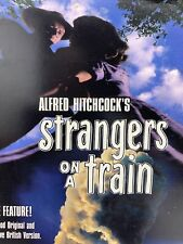Alfred Hitchcock's Strangers on a Train Dvd 1951 Black and White 1997 Edition