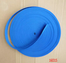 2.5cm Wide Blue Nylon Heavy Webbing Strap Thick Knapsack Belt 10 Meters