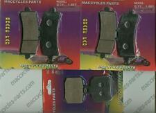 Aprilia Disc Brake Pads RSV4 R/Factory 2009-2014 Front & Rear (3 sets)
