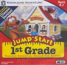 JumpStart 1st Grade PC MAC CD learn read math science count money coins language