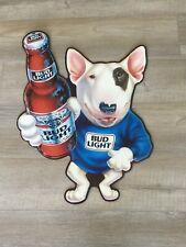 Bud Light Spuds MacKenzie The Original Party Animal 7 inch Metal Sign