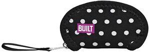 Wrap it! Ear Bud Case Mini Dot Black & White