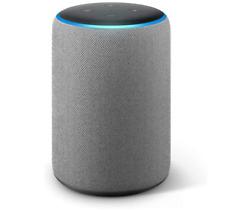 Amazon B0794W1SKP Echo Plus 2nd Generation Home Speaker with Alexa-Heather Gray