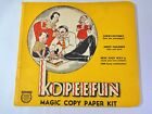 Vintage Kopeefun Magic Copy Paper Kit (cover and some Paper)