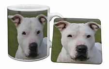 American Staffordshire Bull Terrier Dog Mug+Coaster Christmas/Birthda, AD-SBT5MC
