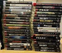 PlayStation 3 PS3 lot pick & play! Free Shipping!