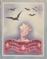 C1 Irene SIMONET L ENLEVEMENT DE FLEURET Illustre ST MARC Volumetrix EO Numerote