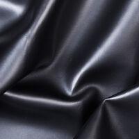 "Black Soft Skin Regular Vinyl Fabric - Sold By The Yard - 52""/ 54"""