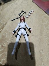 "Marvel Legends Black Widow Movie DELUXE WHITE SUIT FIGURE ONLY Loose 6"" 2020"