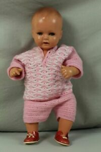 A3 / Schildkröt Doll With Clothing + Tone - 16 7/8in Approx. 363 Large Old = ? /