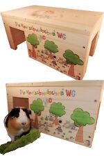 Nagerhaus Meerschweinchenhaus Kleintierhaus XXL mit 2 Eingängen
