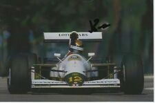 JULIAN BAILEY HAND SIGNED 6X4 PHOTO LOTUS FORMULA 1 AUTOGRAPH 3.