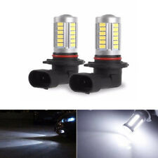 1Pc 9006 HB4 33 SMD LED DRL Driving Car Head Light Foglight Lamp White 660LM New