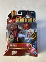 Iron Man Mark VI Action Figure Iron Man 2 Movie Series 2010 Hasbro New Walmart