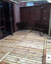 20 x lengths of timber. Decking base Flower beds Garden furniture firewood posts