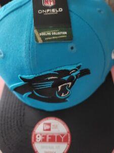NWT NFL Carolina Panthers New Era On Field 2016 Snapback Hat Cap