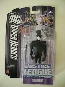 """DC Super Heroes Justice League Unlimited 4.5"""" The Shade Mattel Brand New"""