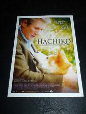 HACHIKO: A DOG'S STORY, film card [Richard Gere]