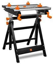 WEN WB2322 24-Inch Height Adjustable Tilting Steel Portable Work Bench