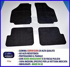 Tappetini per Lancia Y Ipsilon 3 porte dal 2003 al 2011 in Gomma Tappeti auto