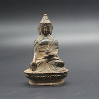 Exquisite Old Tibet Tibetan Bronze Buddhism Buddha statue Exorcism peace wealth