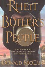 Rhett Butler's People Donald McCaig Gone With The Wind Prequel Book HC DJ