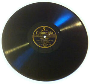 78T LP 78rpm TINO ROSSI Adieu Hawaï & Guitare d'amour COLUMBIA circa 1935