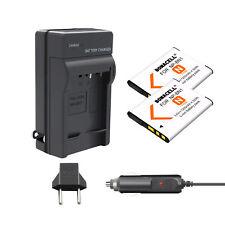 2X NP-BN1 Battery+Charger for Sony DSC-QX10 QX100 T99 W310 TF1 TX5 TX7 TX9 W530