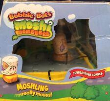 MOSHI MONSTER BOBBLE BOT COBBLESTONE CORNER SET Really Moves New Rare