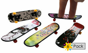6 Finger Skateboards - Pinata Toy Loot/Party Bag Fillers Childrens/Kids Boys