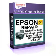 Almohadilla De Tinta De Impresora Epson residuos Contador de restablecer Stylus Photo servicio descarga digital