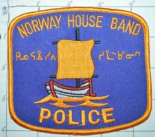 CANADA, NORWAY HOUSE BAND SWAMPY CREE NATION TRIBAL POLICE MANITOBA PATCH