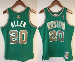 Ray Allen Boston Celtics Mitchell & Ness Authentic St. Patrick's Day Jersey