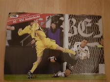 AZ Alkmaar v RSC Anderlecht 16-02-2012 UEFA paper hand clapper / voetbalklapper