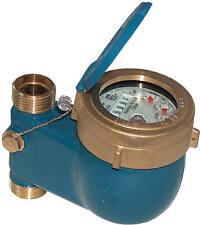 Kaltwasserzähler Hauswasserzähler Wasserzähler QN 2,5m³ geeicht 105mm 30°C