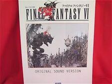 Final Fantasy VI 6 Piano Sheet Music Collection Book