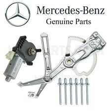 For Mercedes W163 ML Front Driver Left Window Regulator & Motor 6 Rivets Kit