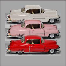 3 Kinsmart 1953 Cadillac Series 62 HARD TOP 1:43 Scale Die Cast NO-BOX W-P-R