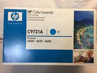 HP 641A C9721A Color LaserJet Print Cartridge 4600 4610 4650 (2240)