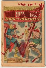 Journey Into Mystery Thor Annual #1 Coverless 1965 1st Appearance of Hercules