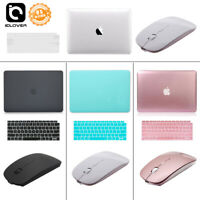 """Hard Case Shell+Keyboard Cover+Wireless Mouse For 2018 Mac Macbook AIR 13"""" A1932"""