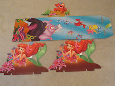 Disney The Little Mermaid Movie Video Display Store Standee Shelf/Counter Art