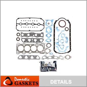Fits 01-02 Kia Rio 16-Valve 1.5L DOHC Full Gasket Set A5D