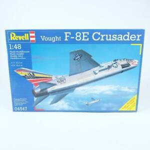 Revell Vought F-8E Crusader Jet Aircraft 1/48 Scale Plastic Model Kit 04547