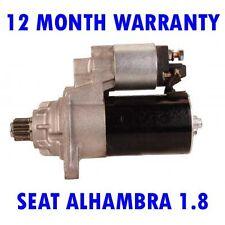 SEAT ALHAMBRA 1.8 2.0 MPV 1996 1997 1998 1999 2000 - 2010 RMFD STARTER MOTOR
