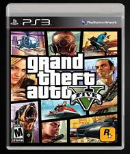 GTA V GRAND THEFT AUTO 5 PS3 CASTELLANO ESPAÑOL FISICO