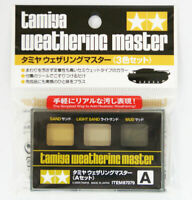 Tamiya 87079 Weathering Master Effect Set A - Sand, LT Sand, Mud USA Seller