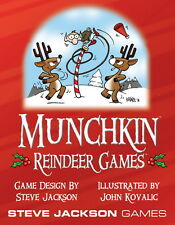 Munchkin Expansion Reindeer Games Booster Pack Steve Jackson Games New