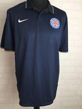 West Riding County Football Association Nike Polo Top Shirt Xl Dri-Fit Navy E133