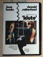 dvd cine clásico: Klute (1971, Jane Fonda, Donald Sutherland, )